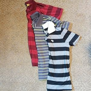 Lot of 3 polo shirts youth size 16